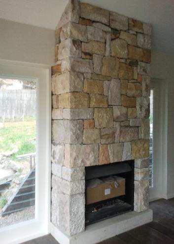 Stonemason stone mason chimneys and walling for Fireplace stone work
